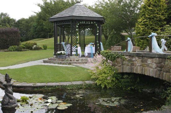 Best Western Mytton Fold Hotel & Golf Club: the gazebo