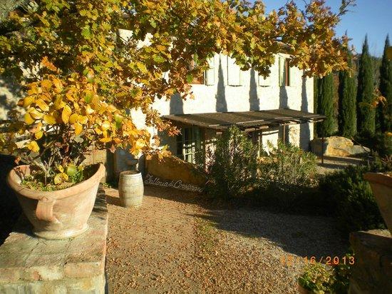 Fattoria di Corsignano: Beautiful view of the winery