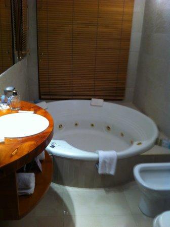 Rochester Hotel Bariloche: buena bañera