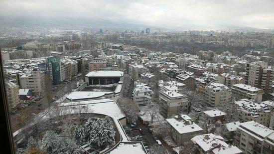 Panoramica Di Sofia Dalla Camera Picture Of Hotel Marinela Sofia