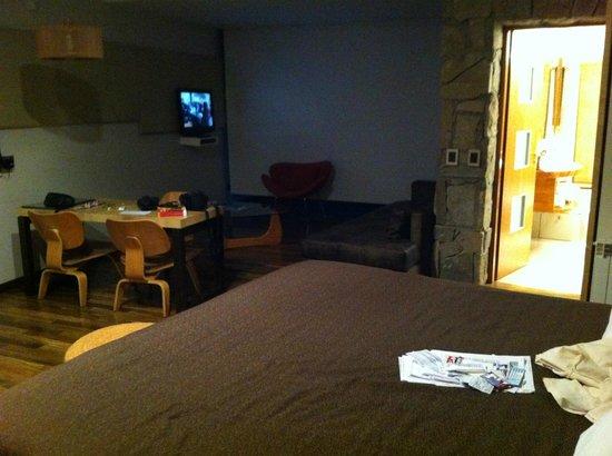 Rochester Hotel Bariloche: vista 2 de habitacion