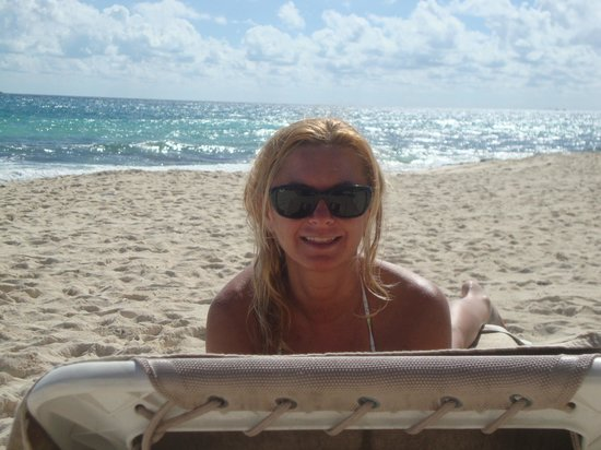 Valentin Imperial Maya: enjoying the VIM beach
