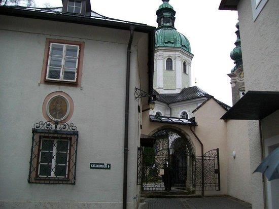 Petersfriedhof: alle catacombe