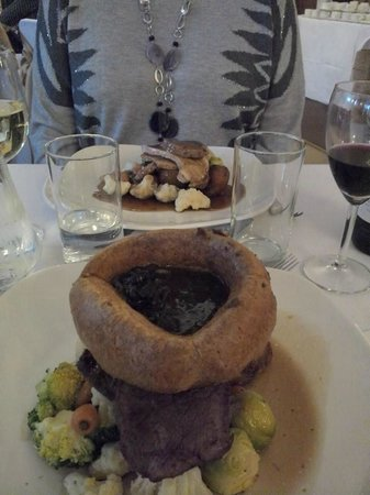 Donington Manor Hotel: Christmas Lunch 2013, main course