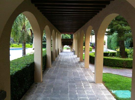 Camino Real Guanajuato : Hotel area