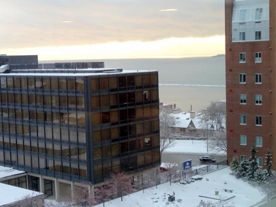 Hotel Vermont: nice views from top floor.