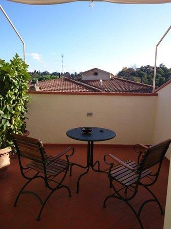 Hotel David: Balcony