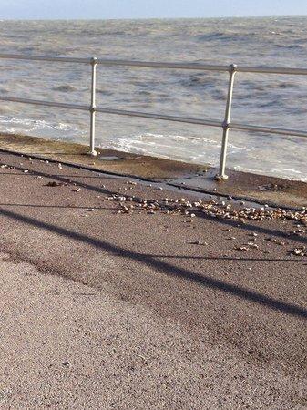 BEST WESTERN Beachcroft Hotel: Lovely walk on the beach