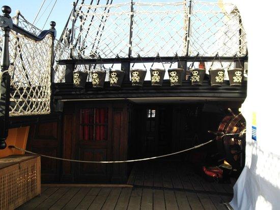 HMS Victory: On deck