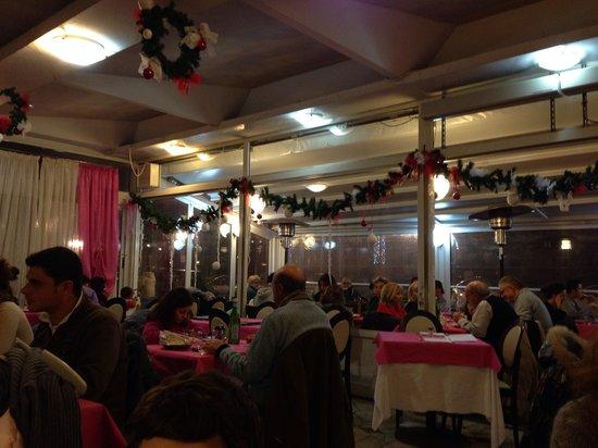 Ristorante Vesuvio: La sala