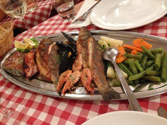 Konoba Marjan: Tastiest seafood dinner ever!