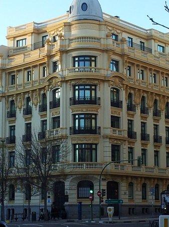 Hotel Sardinero Madrid: hotel desde el exterios
