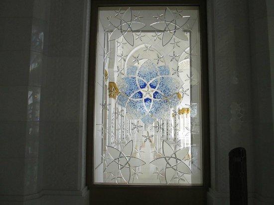 Scheich-Zayid-Moschee: Fenster