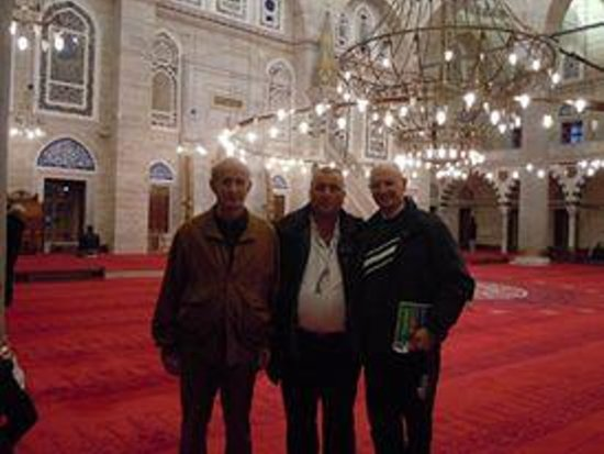 Historical Istanbul Tours: Roberto Diomedi, Giuseppe d'onofrio in Mihrimah from italy
