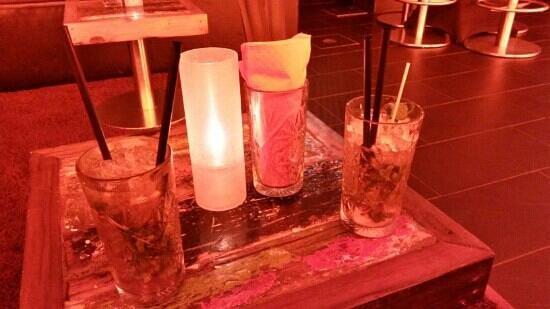 Chilli Club: Fresh Ice Tea creation @ Chili Club Lounge