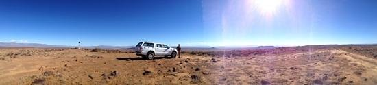 Calvinia, Южная Африка: at the Elandsberg viewpoint, only reachable by a 4X4 track
