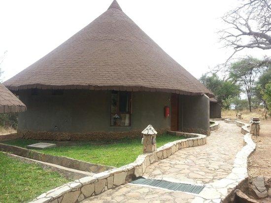 Tarangire Sopa Lodge: Our lodge