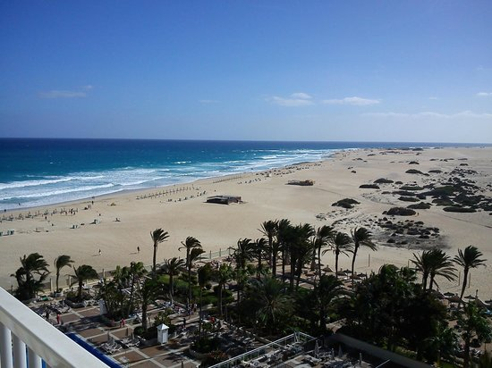ClubHotel Riu Oliva Beach Resort: Christmas Day view from room