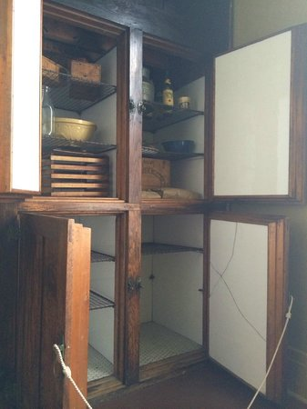 Spadina Museum: The home's ice box - operational until the start of WWII