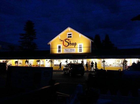 The C Shop: C Shop at night