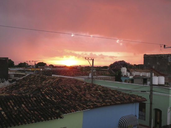 Hostal Ileana Betancourt: View from the Rooftop Terrace