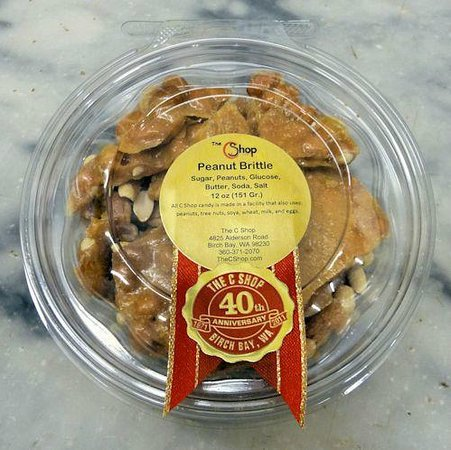The C Shop: C Shop Peanut Brittle