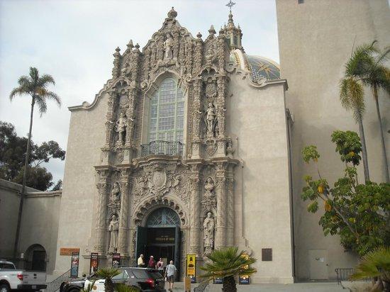 San Diego Museum of Man: Exterior shot