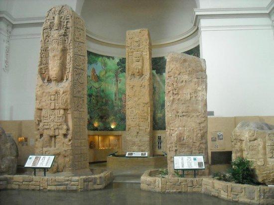 San Diego Museum of Man: Mayan exhibit