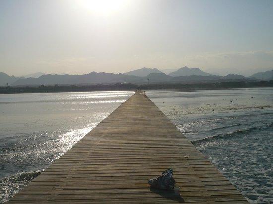 Jaz Mirabel Beach : jetty