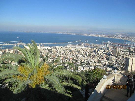 Terrasses baha'ies : panorama