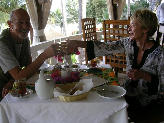 Ngala Lodge: Anniversary breakfast