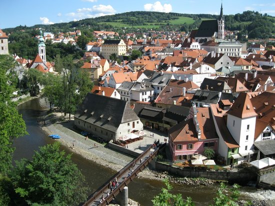 Historic Center of Cesky Krumlov: Beautiful town