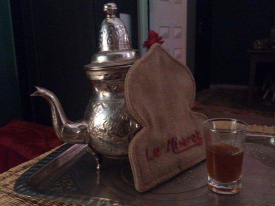 Le Minaret : Mint Tea.
