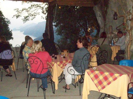 Il Ristoro degli Dei: view from table