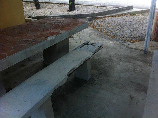 Hilton Curacao: Garten