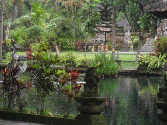 "Puri Gangga Resort: ""Holly water"" next to the Hotel"