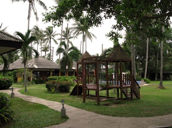 The Lipa Lovely Resort: The central area.