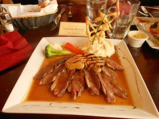 Restaurant Le Sully: Le magret de canard