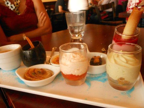 Restaurant Le Sully: Le plateau du café gourmand