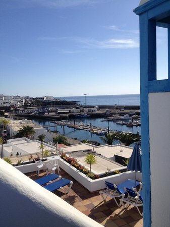 Agua Marina Apartments: Harbor from our terrace