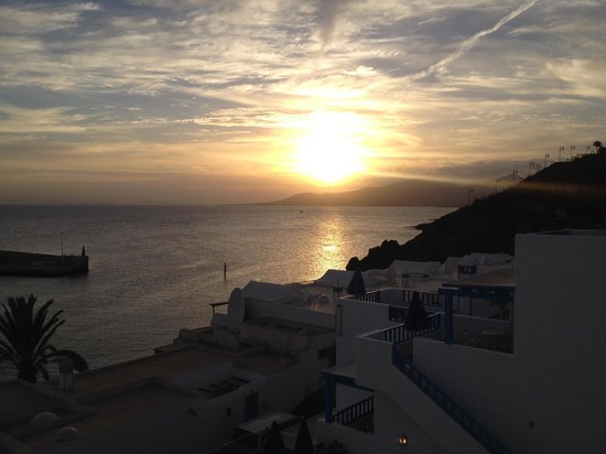Agua Marina Apartments: Sunset from our terrace