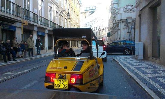 GoCar Tours: By GoCar in Rossio, Lisbon