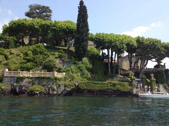 Villa del Balbianello: View from the boat!