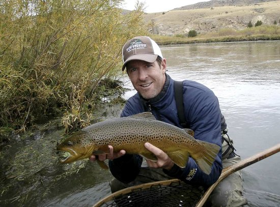 Guided Fly Fishing On Montanas Big Hole River Picture Of The