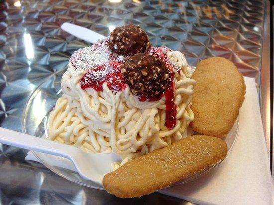 Poynor's Pommes Frites: Spaghetti Ice
