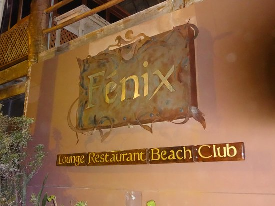 Fenix Lounge Restaurant & Beach Club: Fenix