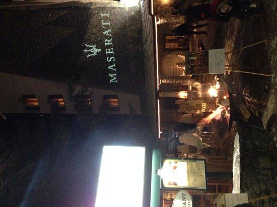 Grand Hotel Royal e Golf: Bar e ingresso