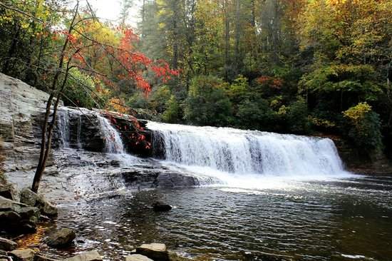 Cedar Mountain, Carolina del Norte: Hooker Falls