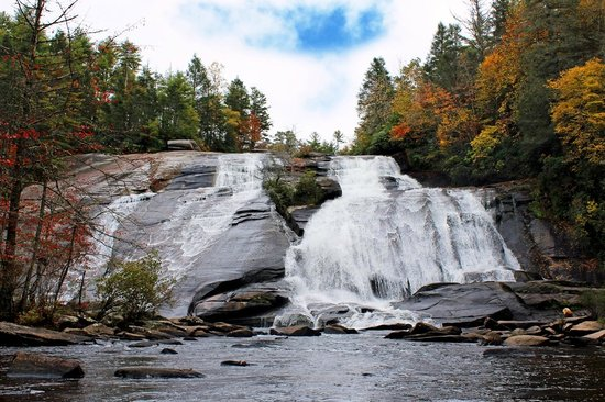 Cedar Mountain, Carolina do Norte: High Falls