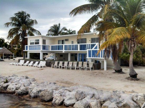 Seashell Beach Resort: View from the dock